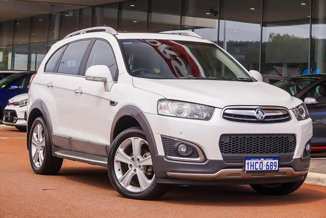 Used Holden Captiva CG MY16 LTZ AWD, 2015 Holden Captiva CG MY16 LTZ AWD White 6 Speed Sports Automatic Wagon