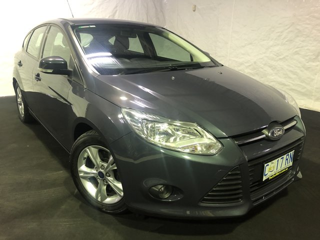 Used Ford Focus LW Trend PwrShift, 2012 Ford Focus LW Trend PwrShift Blue 6 Speed Automatic Hatchback