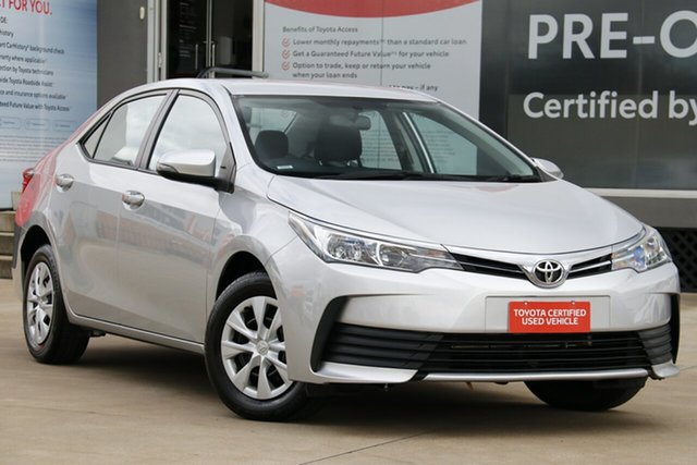 Used Toyota Corolla ZRE172R Ascent S-CVT Guildford, 2019 Toyota Corolla ZRE172R Ascent S-CVT Silver Ash 7 Speed Constant Variable Sedan