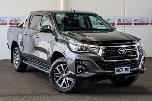 Used Toyota Hilux GUN126R SR5 Double Cab, 2018 Toyota Hilux GUN126R SR5 Double Cab Graphite 6 Speed Sports Automatic Utility