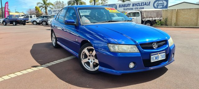 Used Holden Commodore VZ MY06 SV6, 2006 Holden Commodore VZ MY06 SV6 Blue 5 Speed Sports Automatic Sedan