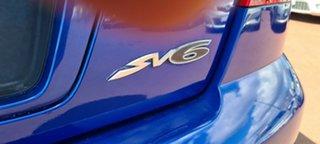 2006 Holden Commodore VZ MY06 SV6 Blue 5 Speed Sports Automatic Sedan