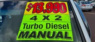 2010 Ford Ranger PK XL Hi-Rider White 5 Speed Manual Cab Chassis