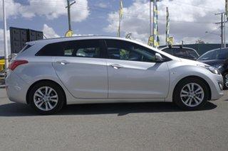 2014 Hyundai i30 GD Active Tourer Sleek Silver 6 Speed Sports Automatic Wagon