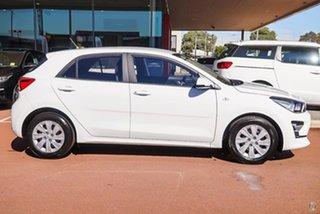2020 Kia Rio YB MY21 S White 6 Speed Manual Hatchback