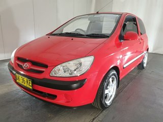 2006 Hyundai Getz TB MY06 Red 5 Speed Manual Hatchback.