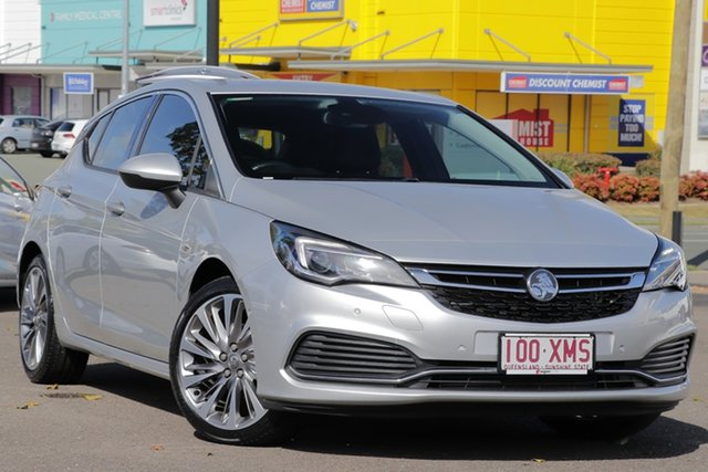 Used Holden Astra BK MY17 RS-V, 2017 Holden Astra BK MY17 RS-V Silver 6 Speed Sports Automatic Hatchback