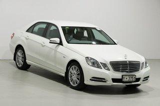 2010 Mercedes-Benz E250 212 CGI Elegance White 5 Speed Automatic Sedan