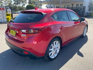 2015 Mazda 3 BM5436 SP25 SKYACTIV-MT GT Red 6 Speed Manual Hatchback
