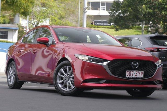 Demo Mazda 3 BP2S7A G20 SKYACTIV-Drive Pure, 2020 Mazda 3 BP2S7A G20 SKYACTIV-Drive Pure Soul Red Crystal 6 Speed Sports Automatic Sedan