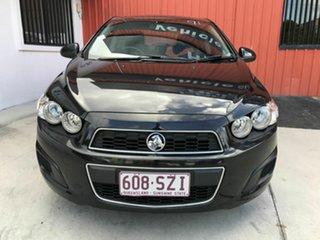 2013 Holden Barina TM MY13 CD Black 6 Speed Automatic Sedan.