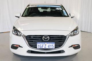 2017 Mazda 3 BN5478 Neo SKYACTIV-Drive White 6 Speed Sports Automatic Hatchback