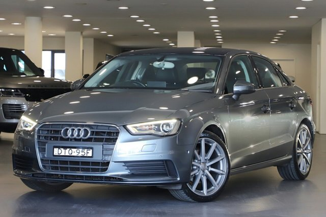 Used Audi A3 8V MY15 Attraction S Tronic, 2015 Audi A3 8V MY15 Attraction S Tronic Grey 7 Speed Sports Automatic Dual Clutch Sedan