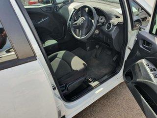 2008 Mitsubishi Colt RG MY08 ES White 1 Speed Constant Variable Hatchback