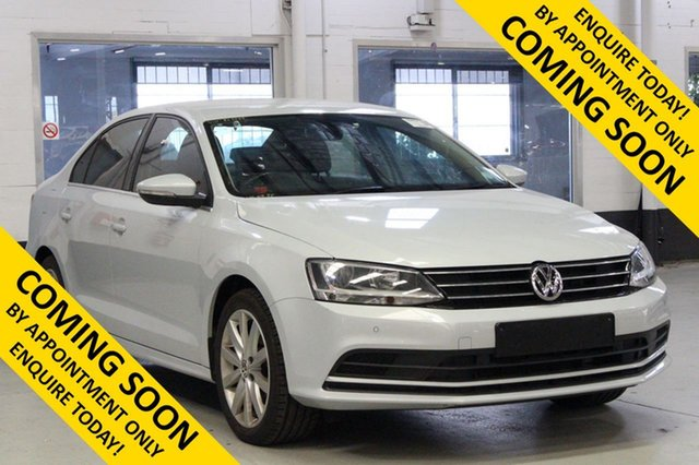 Used Volkswagen Jetta 1KM MY17 118 TSI Comfortline, 2017 Volkswagen Jetta 1KM MY17 118 TSI Comfortline White 7 Speed Auto Direct Shift Sedan