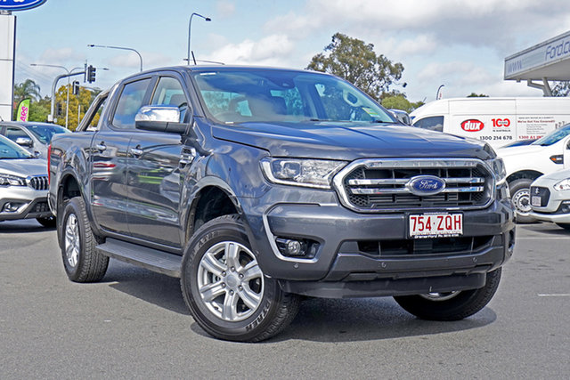 Used Ford Ranger PX MkIII 2020.25MY XLT, 2020 Ford Ranger PX MkIII 2020.25MY XLT Meteor Gre 10 Speed Sports Automatic Double Cab Pick Up