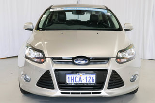 2014 Ford Focus LW MkII Titanium PwrShift White 6 Speed Automatic Hatchback