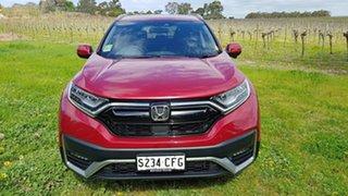 2020 Honda CR-V RW MY21 VTi 4WD LX AWD Ignite Red 1 Speed Automatic Wagon.