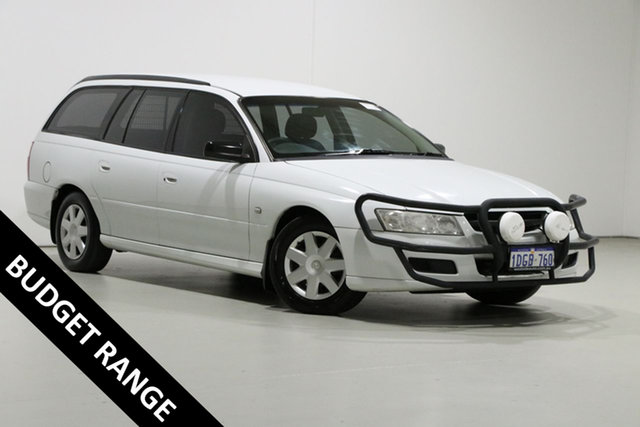 Used Holden Commodore VZ Executive, 2006 Holden Commodore VZ Executive White 4 Speed Automatic Wagon