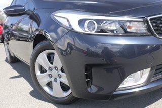 2016 Kia Cerato YD MY17 S Gravity Blue 6 Speed Sports Automatic Sedan.