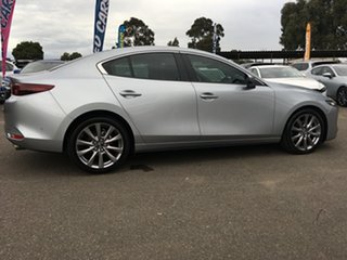 2019 Mazda 3 BP2SLA G25 SKYACTIV-Drive Evolve Silver 6 Speed Sports Automatic Sedan.
