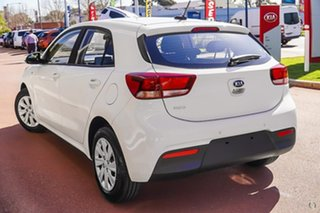2020 Kia Rio YB MY21 S White 6 Speed Manual Hatchback.