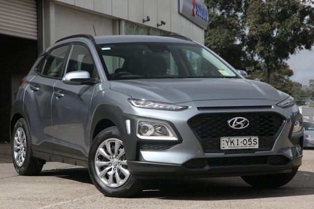 Demo Hyundai Kona OS.3 MY20 Go 2WD, 2020 Hyundai Kona OS.3 MY20 Go 2WD Lake Silver 6 Speed Sports Automatic Wagon