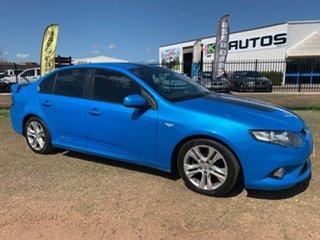 2011 Ford Falcon FG MkII XR6 Blue 6 Speed Sports Automatic Sedan.