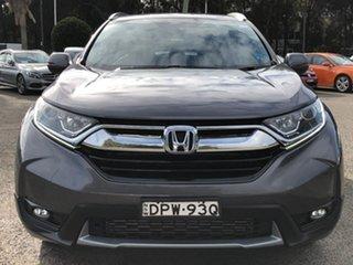 2017 Honda CR-V RW MY18 VTi FWD Grey 1 Speed Constant Variable Wagon.