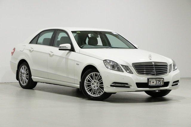 Used Mercedes-Benz E250 212 CGI Elegance, 2010 Mercedes-Benz E250 212 CGI Elegance White 5 Speed Automatic Sedan