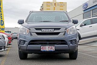 2018 Isuzu D-MAX MY17 SX 4x2 Grey 6 Speed Manual Cab Chassis.