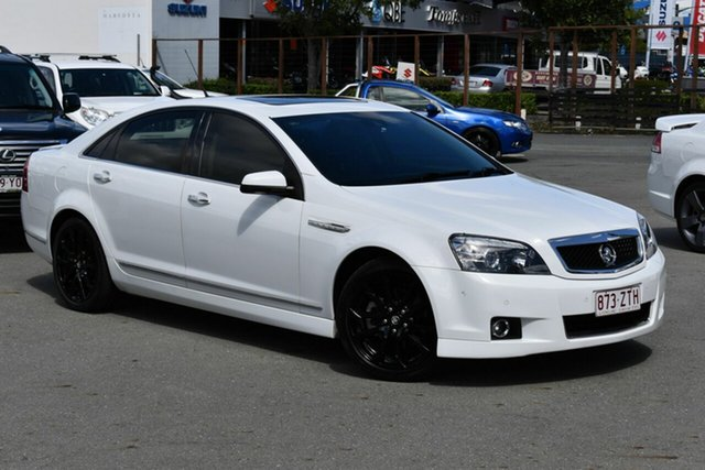 Used Holden Caprice WN MY16 V, 2016 Holden Caprice WN MY16 V White 6 Speed Auto Active Sequential Sedan