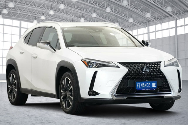 Used Lexus UX MZAA10R UX200 2WD Sport Luxury Victoria Park, 2018 Lexus UX MZAA10R UX200 2WD Sport Luxury White 1 Speed Constant Variable Hatchback