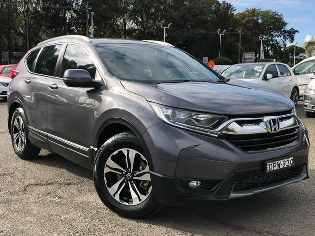 Used Honda CR-V RW MY18 VTi FWD, 2017 Honda CR-V RW MY18 VTi FWD Grey 1 Speed Constant Variable Wagon