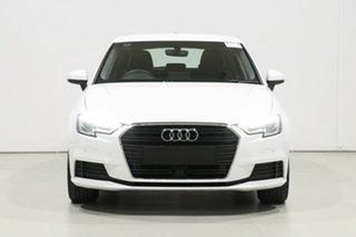 2019 Audi A3 8V MY19 30 TFSI (1.0 TFSI) White 7 Speed Auto S-Tronic Sportback.