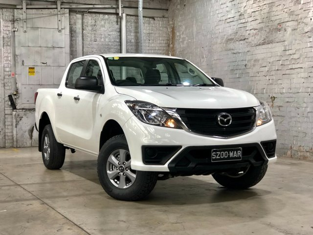 Used Mazda BT-50 UR0YG1 XT, 2018 Mazda BT-50 UR0YG1 XT White 6 Speed Manual Utility