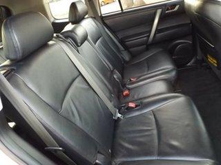 2009 Toyota Kluger GSU45R KX-S AWD Silver 5 Speed Sports Automatic Wagon