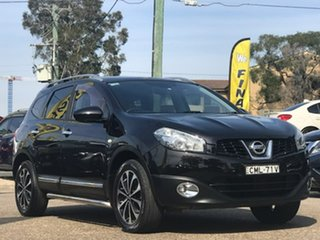 2013 Nissan Dualis J107 Series 4 MY13 +2 Hatch X-tronic 2WD Ti-L Black 6 Speed Constant Variable