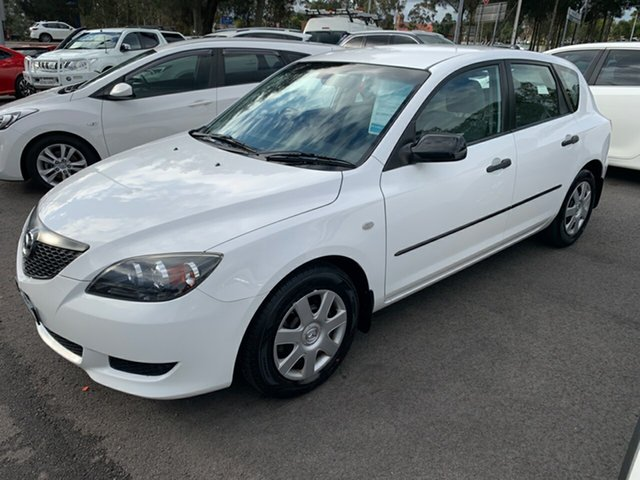Used Mazda 3 BK10F1 Neo, 2004 Mazda 3 BK10F1 Neo White 4 Speed Sports Automatic Hatchback