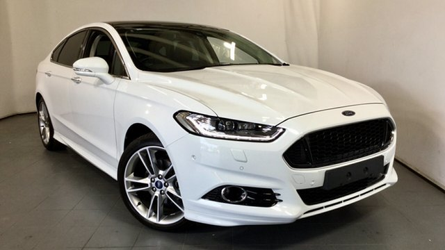Used Ford Mondeo MD 2018.25MY Titanium, 2018 Ford Mondeo MD 2018.25MY Titanium White 6 Speed Sports Automatic Hatchback
