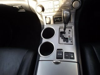 2009 Toyota Kluger GSU45R KX-S AWD Silver 5 Speed Sports Automatic Wagon.