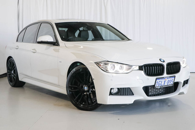 Used BMW 3 Series F30 MY1114 320d M Sport, 2015 BMW 3 Series F30 MY1114 320d M Sport White 8 Speed Sports Automatic Sedan
