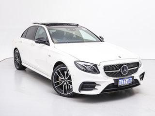 2019 Mercedes-AMG E53 213 MY19 4Matic+ EQ (Hybrid) White 9 Speed Automatic G-Tronic Saloon.