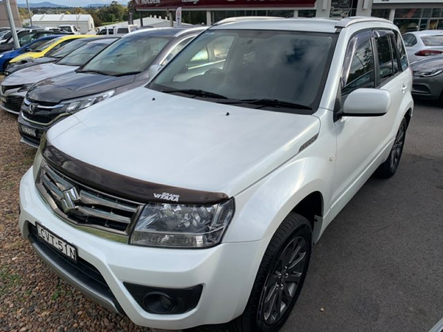 Used Suzuki Grand Vitara JB Sport, 2014 Suzuki Grand Vitara JB Sport White 4 Speed Automatic Wagon