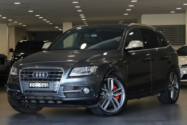 Used Audi SQ5 8R MY15 TDI Tiptronic Quattro, 2015 Audi SQ5 8R MY15 TDI Tiptronic Quattro Grey 8 Speed Sports Automatic Wagon