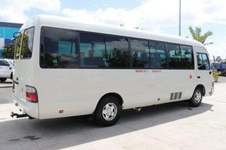 2012 Toyota Coaster LWB Standard White Manual Midi Coach