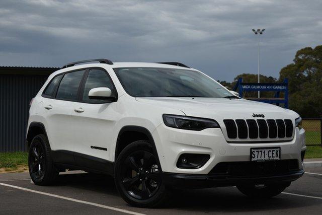 Used Jeep Cherokee KL MY19 Night Eagle, 2019 Jeep Cherokee KL MY19 Night Eagle White 9 Speed Sports Automatic Wagon