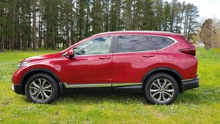 2020 Honda CR-V RW MY21 VTi 4WD LX AWD Ignite Red 1 Speed Automatic Wagon