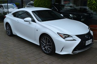 2017 Lexus RC GSC10R RC350 F Sport White 8 Speed Sports Automatic Coupe.
