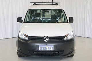 2014 Volkswagen Caddy 2KN MY14 TDI250 SWB DSG White 7 Speed Sports Automatic Dual Clutch Van